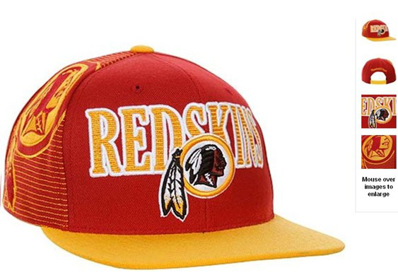 Washington Redskins NFL Snapback Hat 60D2